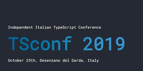 TSconf 2019 tickets
