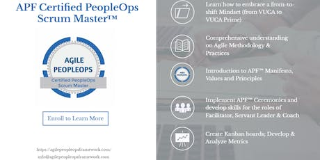 Agile PeopleOps Framework Certified PeopleOps Scrum Master (APF CPSM)™| July 20-21, 2019 | Colombo tickets