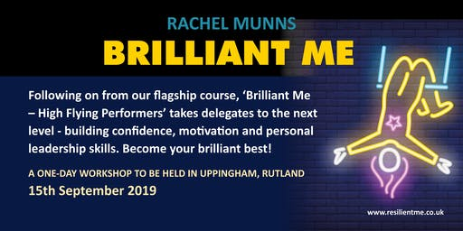 Brilliant Me - confidence -building and motivational workshop