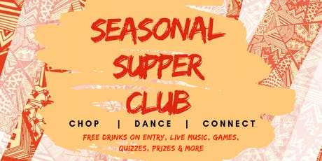 The Cooking Pot Presents The Seasonal Supper Club! tickets