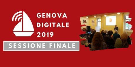 """""""App utili in città"""" - corso gratuito - Genova Digitale 2019 biglietti"""