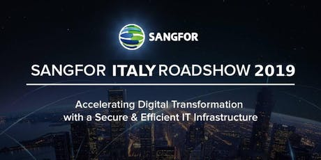 Sangfor roadshow Padova: security, networking ed iperconvergenza biglietti