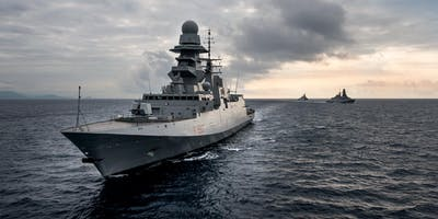 Visita guidata alla Fregata Bergamini - Ormeggio area demaniale zona Stazioni Marittime