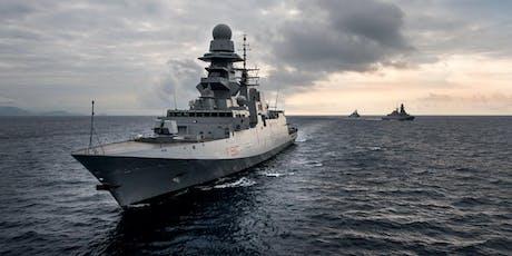 Visita guidata alla Fregata Bergamini - Ormeggio area demaniale zona Stazioni Marittime biglietti