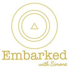 Embarked with Simone logo