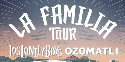 La Familia Tour with Los Lonely Boys and Ozomatli