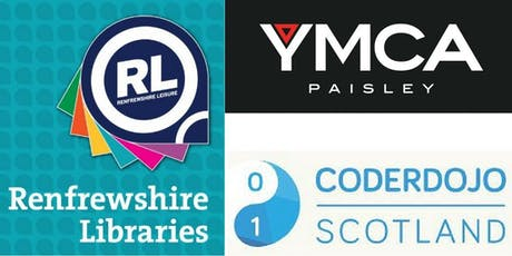 CoderDojo/Paisley YMCA @ Linwood Library - Thursday  tickets