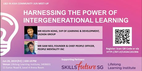 L&D Community Meet-Up: HARNESSING THE POWER OF INTER-GENERATIONAL LEARNING tickets