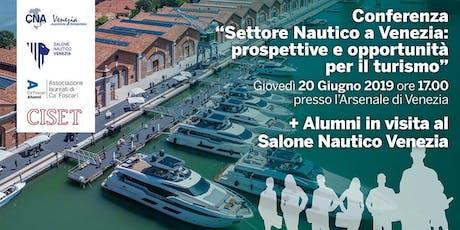 Settore Nautico A Venezia: prospettive e opportunità biglietti
