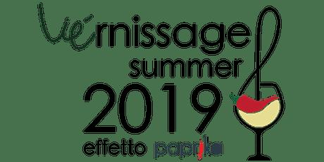 Vie'Rnissage Summer2019 Effetto Paprika biglietti