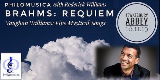Brahms: Requiem with Roderick Williams