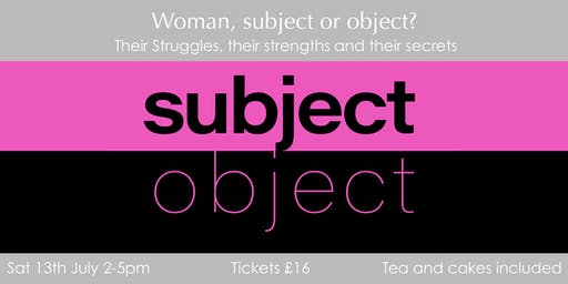 Woman, subject or object?