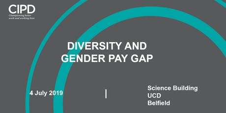 Diversity and Gender pay gap  tickets