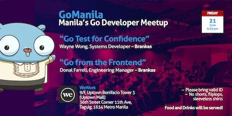 GoManila @ WeWork BGC June 2019 tickets