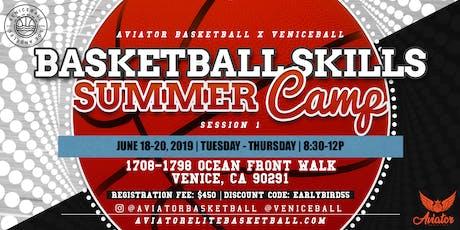 Aviator Basketball Summer Camp X Venice Beach tickets