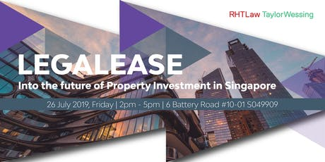 LegaLease - Into the future of Property Investment in Singapore Seminar  tickets