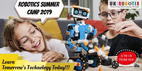 Robotics Summer Camp for Kids in Surrey BC- Robotics, Programming tickets