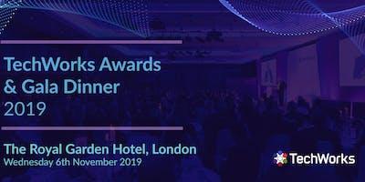 TechWorks Awards & Gala Dinner 2019