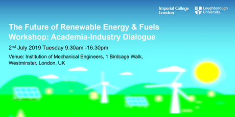 The Future of Renewable Energy & Fuels Workshop: Academia-Industry Dialogue tickets