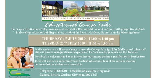 Educational Course Talks