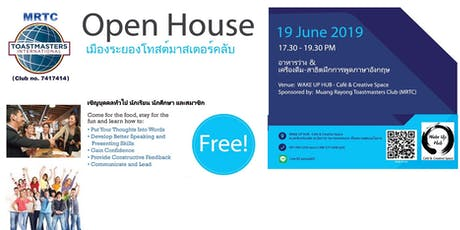 Open House - Mueang Rayong Toastmasters Club tickets
