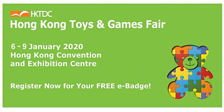 HKTDC Hong Kong Toys & Games Fair 2020 tickets