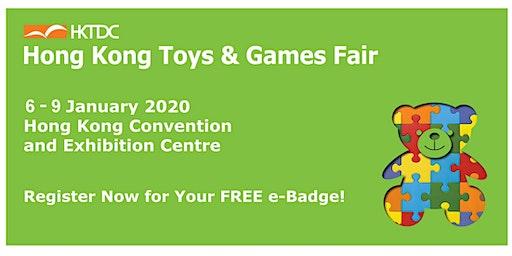 HKTDC Hong Kong Toys & Games Fair 2020