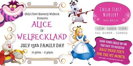 "Child First Nursery Presents ""ALICE IN WELBECKLAND"" tickets"