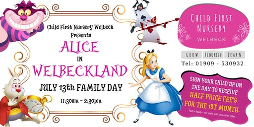 "Child First Nursery Presents ""ALICE IN WELBECKLAND"""
