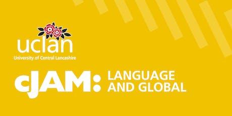 cJAM: Language and Global 2020 tickets