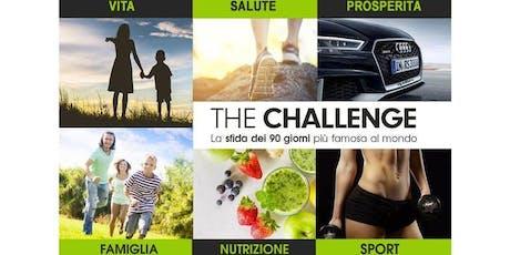 THE CHALLENGE PARTY (La SFIDA DEI 90 giorni) biglietti