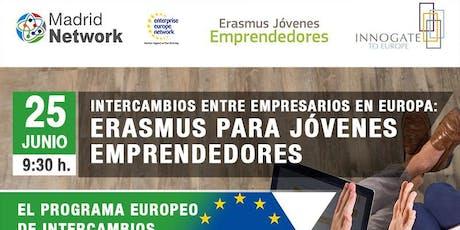 Intercambios entre empresarios en Europa: Erasmus para Jóvenes Emprendedores entradas