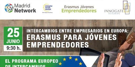 Intercambios entre empresarios en Europa: Erasmus para Jóvenes Emprendedores