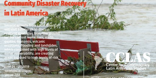Community disaster recovery in Latin America