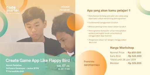 Create Game App Like Flappy Bird