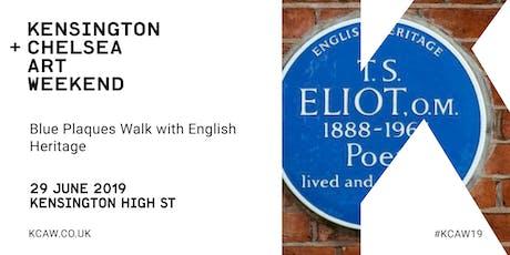 Blue Plaques Walk of Kensington tickets