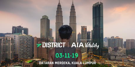 District Race Kuala Lumpur by AIA Vitality 2019 tickets