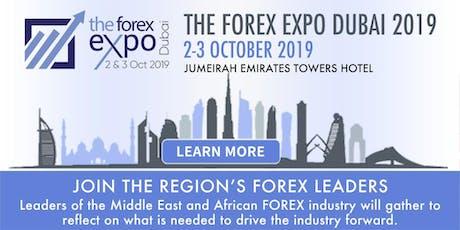 The Forex Expo Dubai 2019 tickets