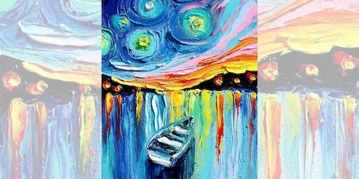 Brew N Brush: Riverboat