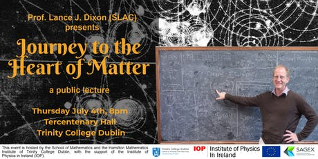 Public Talk: Journey to the Heart of Matter tickets