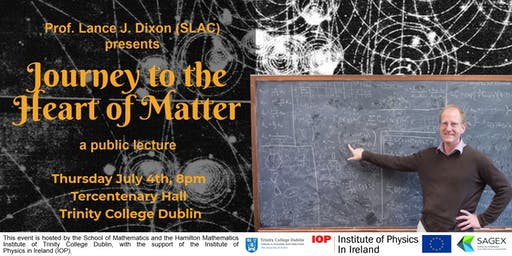Public Talk: Journey to the Heart of Matter