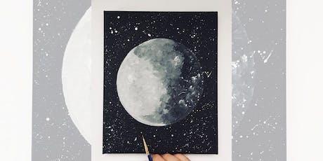 Brew N Brush: Luna tickets