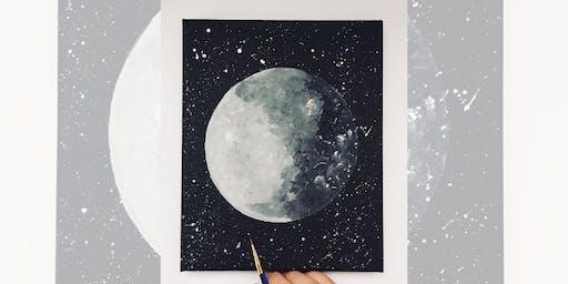 Brew N Brush: Luna
