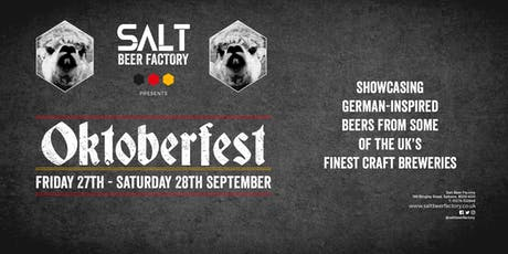 Salt Beer Factory's Oktoberfest tickets