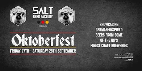 Salt Beer Factory's Oktoberfest tickets