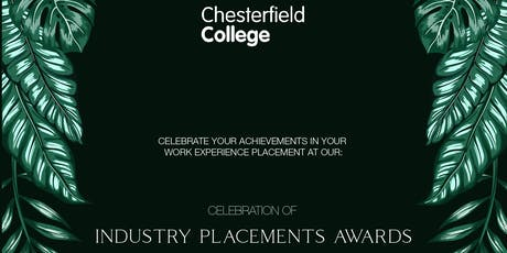 Industry Placements Awards tickets