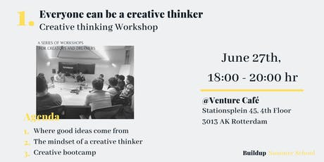 Everyone can be a Creative Thinker - Creative Thinking Workshop tickets
