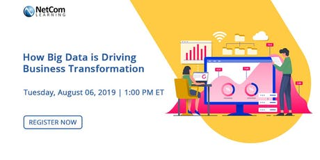 Virtual Event - How Big Data is Driving Business Transformation tickets