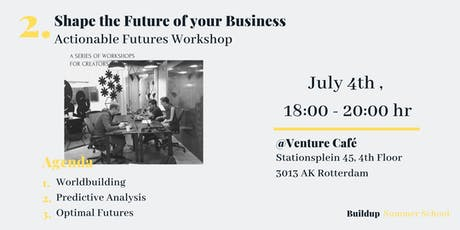 Shape the future of your Business - Actionable Futures Workshop tickets