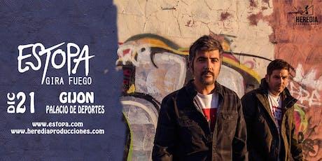 ESTOPA presenta GIRA FUEGO en Gijón entradas